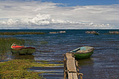 Photograph - Fishing Boats by Ron Dubin