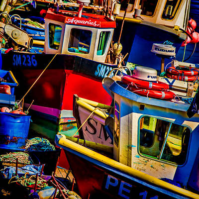 Digital Art - Fishing Fleet by Chris Lord
