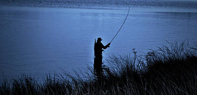 Photograph - Fishing On Lough Fea by Colin Clarke