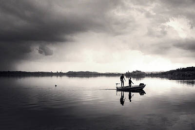 Photograph - Fishing Time by Alfio Finocchiaro