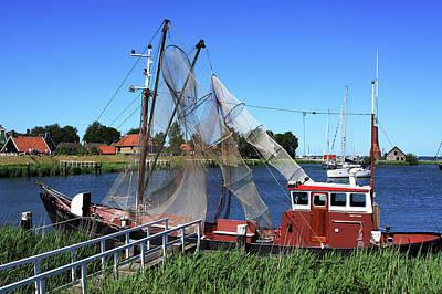 Photograph - Fishing Trawler by Aidan Moran