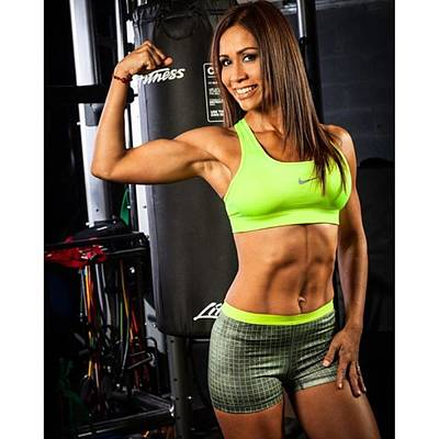 Fitness Photograph - Fitness Trainer @carlamagallanes by Juan Silva