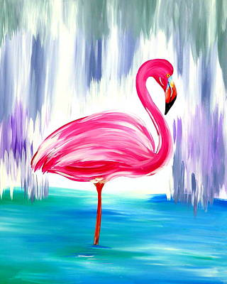 Steampunk Royalty-Free and Rights-Managed Images - Flamingo by Cathy Jacobs