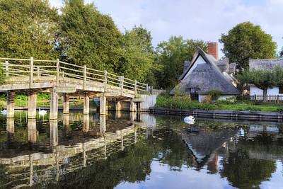 Vale Photograph - Flatford - England by Joana Kruse