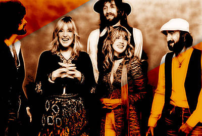 Fleetwood Mac Collection Art Print by Marvin Blaine