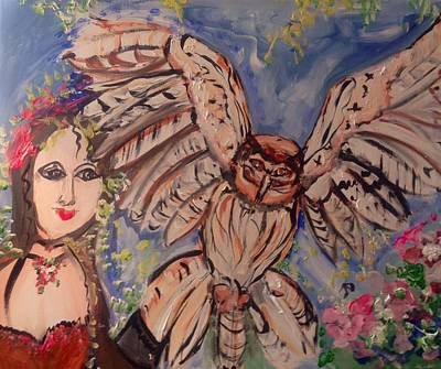 Painting - Flight Of Fancy by Judith Desrosiers