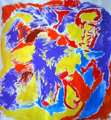 Pai Painting - Flight by Petar Petrov