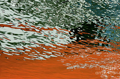 Photograph - Floating On Blue 43 by Wendy Wilton