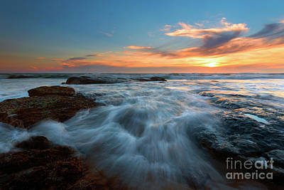 Photograph - Flooding The Gaps by Mike Dawson