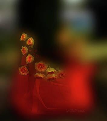 Digital Art - Floral Art 8 by Miss Pet Sitter