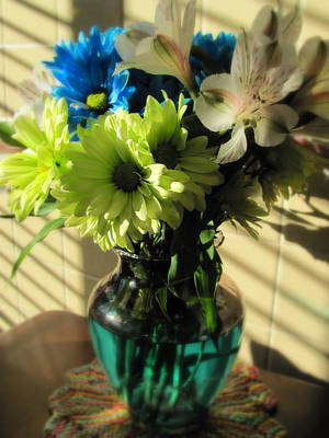 Photograph - Floral Bouquet 2 by Anita Burgermeister