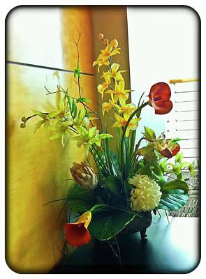 Floral Bouquet Art Print by Francesco Roncone