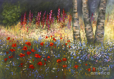 Painting - Floral Delight  by Valerie Travers