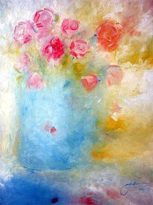 Painting - Floral Reflections by Jack Diamond