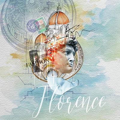 Digital Art - Florence Fashion by Sethu Madhavan