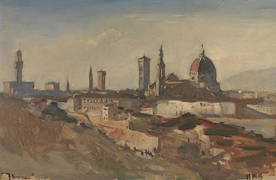 Painting - Florence by Treasury Classics Art