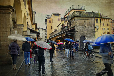 Photograph - Florence In The Rain by Nancy Morgantini