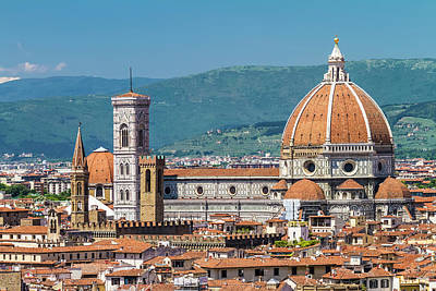 Florence View From Piazzale Michelangelo Art Print