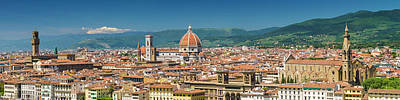 Florence View From Piazzale Michelangelo - Panoramic Art Print