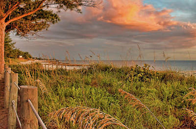 Photograph - Beaches Of The Florida Gulf Coast by HH Photography of Florida