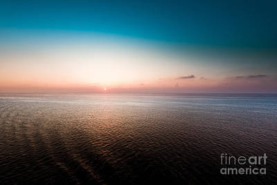 Florida Sunset Print by Ryan Kelly