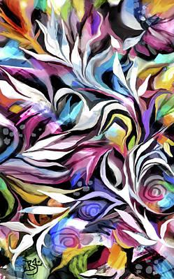 Painting - Flourish by Jean Batzell Fitzgerald