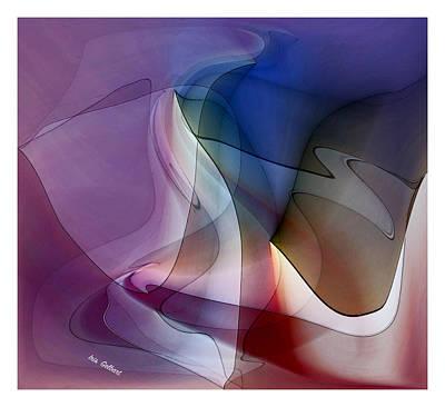 Digital Art - Flow Gently by Iris Gelbart