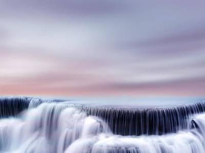 Purple Digital Art - Flow by Jacky Gerritsen