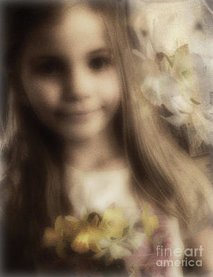 Photograph - Flower Girl by John Anderson
