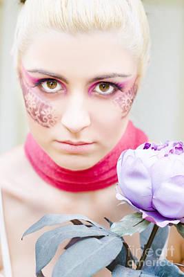 Leotard Photograph - Flower Girl by Jorgo Photography - Wall Art Gallery