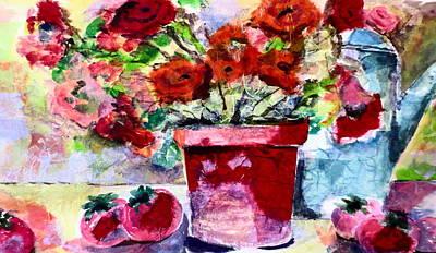 Flower Magic Art Print