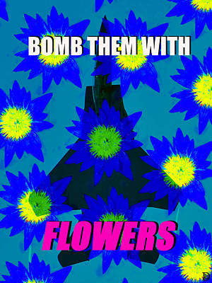 Flower Power Print by David Lee Thompson