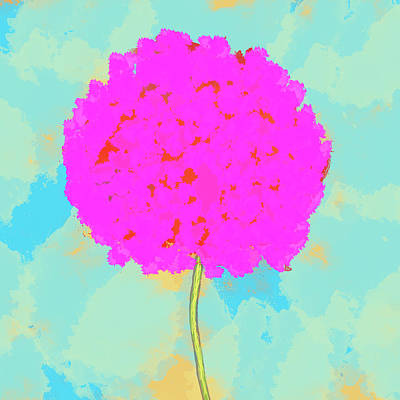 Flower Art Print by Skip Nall