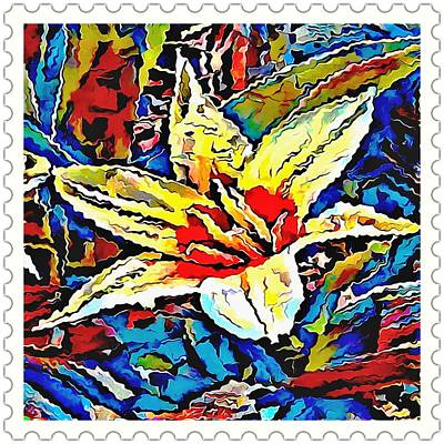 Gerber Daisy Drawing - flower - My WWW vikinek-art.com by Viktor Lebeda