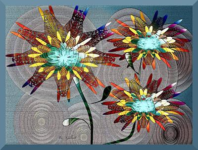Digital Art - Flowering Dreams by Iris Gelbart