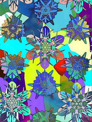 Digital Art - Flowers by Cooky Goldblatt