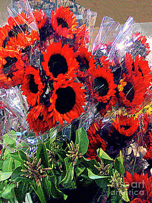 Photograph - Flowers For Sale by Merton Allen