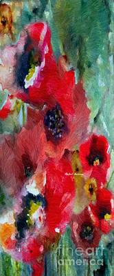 Digital Art - Flowers For You by Rafael Salazar