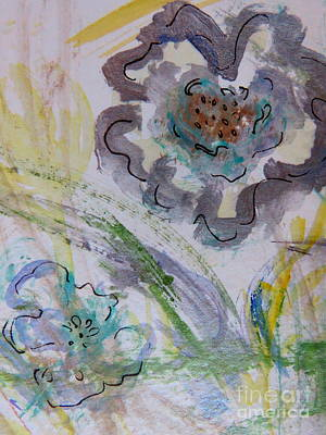 Painting - Flowers by France Laliberte