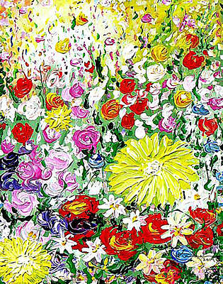 Painting - Flowers In June by Kume Bryant