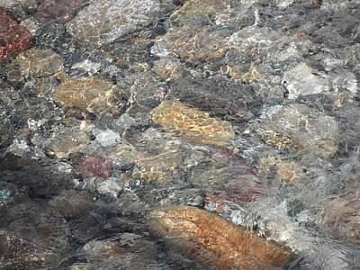 Flowing Stone Art Print