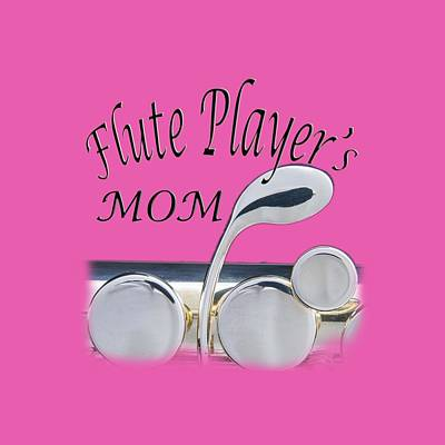 Photograph - Flute Players Mom by M K Miller