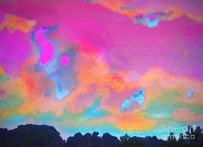 Digital Art - Fly Away by Expressionistart studio Priscilla Batzell