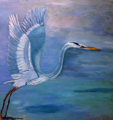Painting - Fly Away by Marie Hamby
