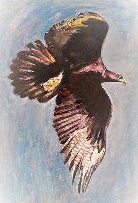 Painting - Flying High by Khalid Saeed