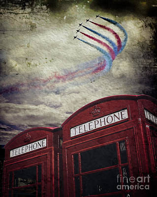 Digital Art - Flypast by Edmund Nagele