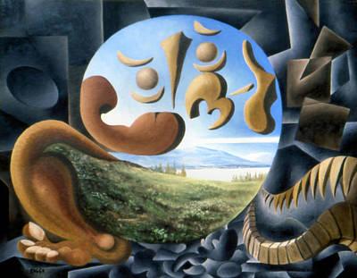 Painting - Foetus by Genio GgXpress