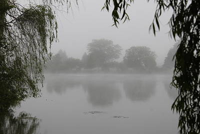 Photograph - Fog On The Pond by Dennis Pintoski