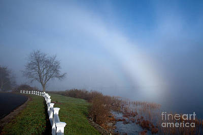 Photograph - Fogbow by Butch Lombardi