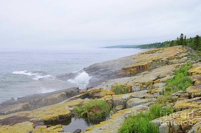 Photograph - Foggy Day On Lake Superior by Sandra Updyke